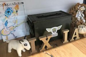 ドッグサロンイキシアに展示しています。